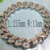 Armband 21,5 cm*13 mm Rostfritt Stål ARF3133