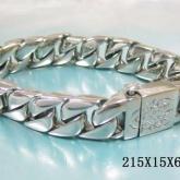 Armband 21,5 cm*15 mm Rostfritt Stål ARF3132
