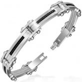 Armband 21 cm*10 mm Rostfritt Stål ARF3118