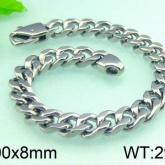 Armband 20 cm*8 mm Rostfritt Stål ARF3175