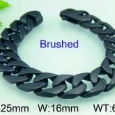 Armband 22,5 cm*16 mm Rostfritt Stål ARF3174