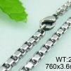 Halsband 45, 50, 55, 60, 71, 76, 80 cm*3,6 mm Rostfritt Stål HRF3123