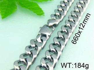 Halsband  Rostfritt Stål 66, 71, 76 cm * 12 mm HRF3142
