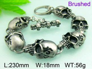 Armband 23 cm*18 mm Rostfritt Stål ARF3181