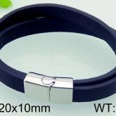 Armband 22 cm*10 mm Läder AL4207