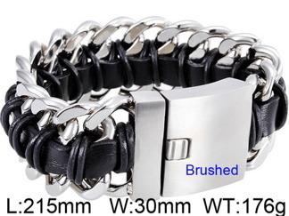 Armband 21,5 cm*30 mm Rostfritt Stål ARF3184
