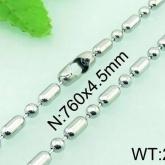 Halsband  Rostfritt Stål  61 cm* 4,5 mm HRF3153