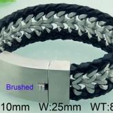 Armband 21 cm*25 mm Rostfritt Stål ARF3193