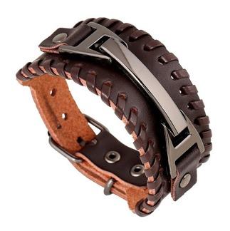 Armband 16,5 - 21,5 cm*30 mm Läder AL4212