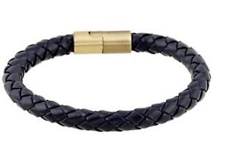 Armband 20,5 cm*8 mm Läder AL4213