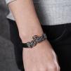 Armband 22 cm*12 mm Läder AL4210