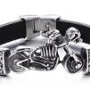 Armband 22 cm*12 mm Läder AL4209