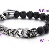 Armband 18-22 cm*8 mm Rostfritt Stål ARF3201