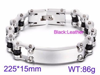 Armband 22,5 cm*15 mm Rostfritt Stål ARF3199