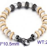 Armband pärlor 22 cm A003