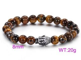 Armband pärlor 16-20 cm A001