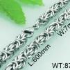 Halsband 50, 60 cm*7 mm Rostfritt Stål HRF3163