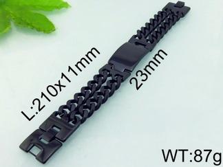 Armband 19-21 cm*23 mm Rostfritt Stål ARF3205