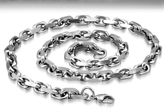 Halsband 60 cm*7,5 mm Rostfritt Stål HRF3164