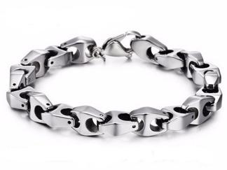 Armband 21 cm*9 mm Tungsten ATS1106