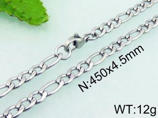 Halsband 45, 50, 60, 71, 76 cm*4,5 mm Rostfritt Stål HRF3166