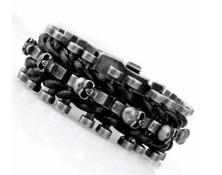 Armband 22 cm*25 mm Rostfritt Stål ARF3209