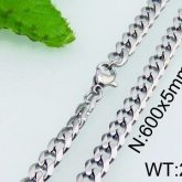 Halsband 60 cm*5 mm Rostfritt Stål HRF3171