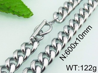 Halsband 60 cm*10 mm Rostfritt Stål HRF3172