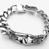 Armband 21,5 cm*13,5 mm Rostfritt Stål ARF3218