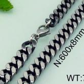 Halsband 60 cm*8 mm Rostfritt Stål HRF3176