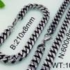 Set Armband + Halsband Rostfritt Stål SRF3119