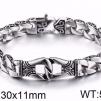 Armband 23 cm*11 mm Rostfritt Stål ARF3221