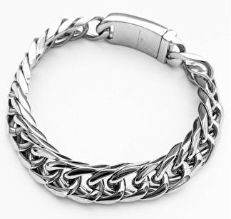 Armband 22 cm*12 mm Rostfritt Stål ARF3222