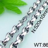 Halsband  Rostfritt Stål ca. 52 cm * 10 mm HRF3125