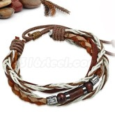 Armband Bali Beads, justerbart