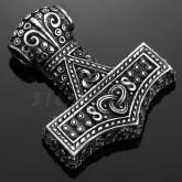 Hänge, Viking Tors Hammare, 2-sidigt, tenn