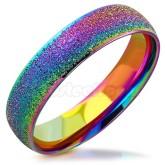 Ring Rainbow borstad rostfritt stål