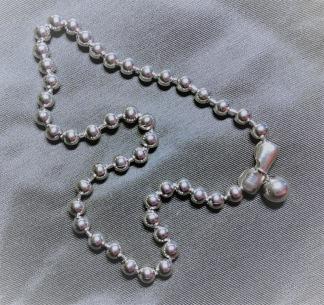 Halsband Stora Kulor i Rostfritt Stål