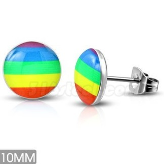 Örhänge Rainbow Rostfritt Stål
