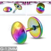 Örhänge/Piercing Rainbow Rostfritt Stål