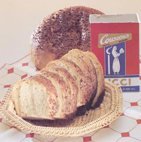 surdegsbröd recept Cous Cous bröd