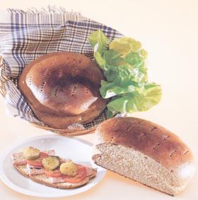 surdegsbröd recept vete- och råglimpa