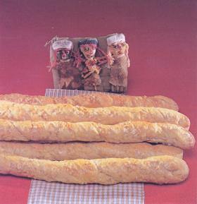 surdegsbröd recept grov baguette