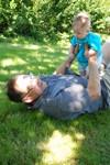 Morfar Ingemar och William