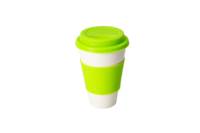 Limefärgad ECO cup