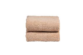 Beige handduk 2st