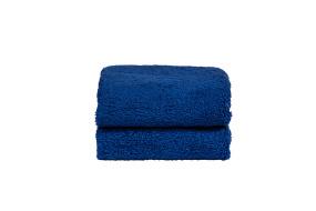 Royalblå handduk 2st