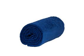 Royalblå badhandduk 1st