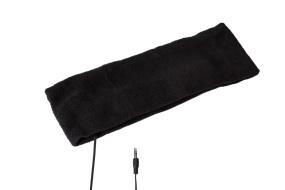 Pannband med inbyggda hörlurar
