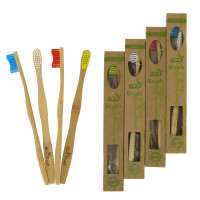 ECO Brush - 4 st tandborstar i bambu